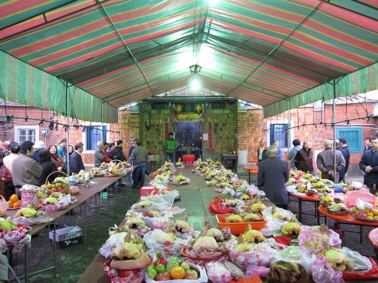 林素燕 论祭祖方式和供品